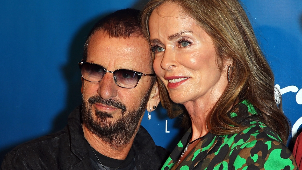 Ringo Starr et Barbara Bach