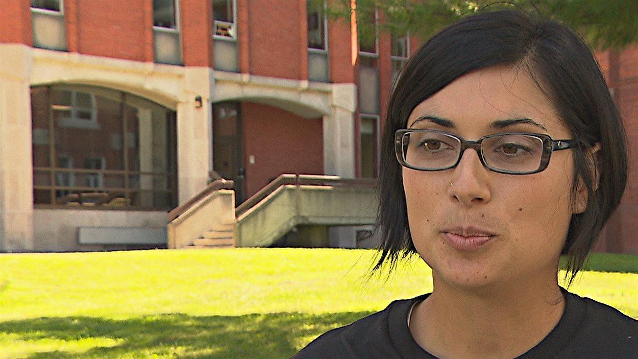 Katherine Hébert-Metthé, coordonnatrice du nouveau programme de santé sexuelle à l'Université Bishop's