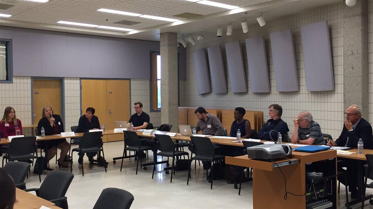 Rencontre Inter-intra de l'Assemblée communautaire fransaskoise à Regina