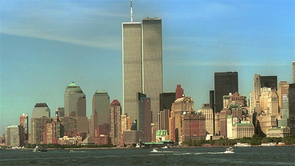 Les tours du World Trade Center en 2001