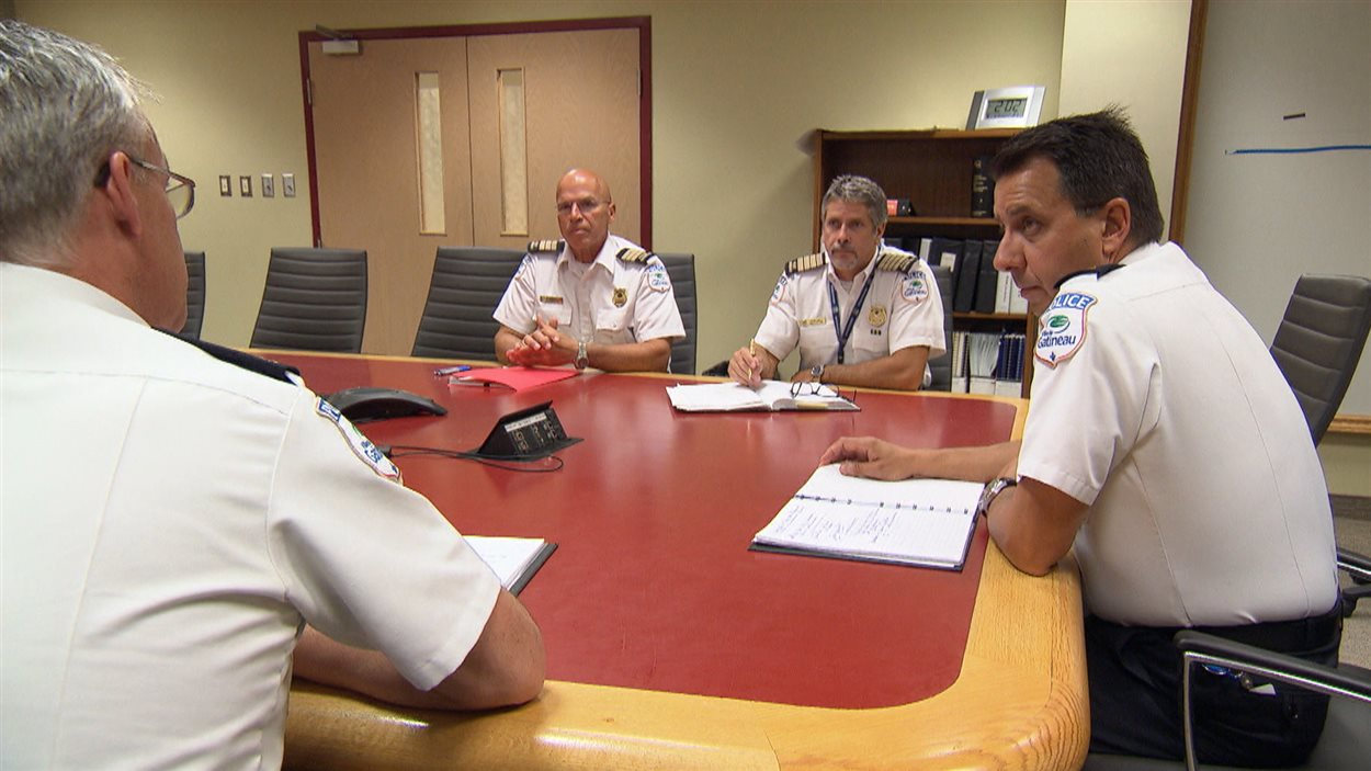 Mario Harel, président de l'Association canadienne des chefs de police.