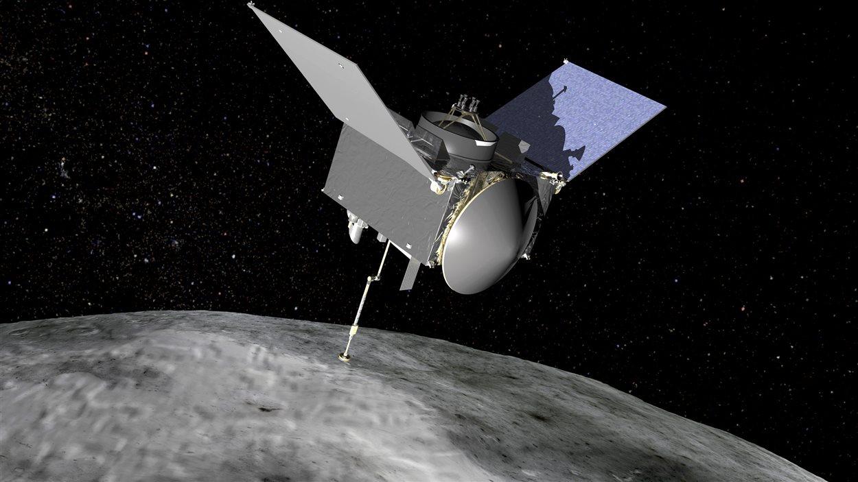 La sonde Osirix-Rex se dirige vers l'astéroïde Bennu.
