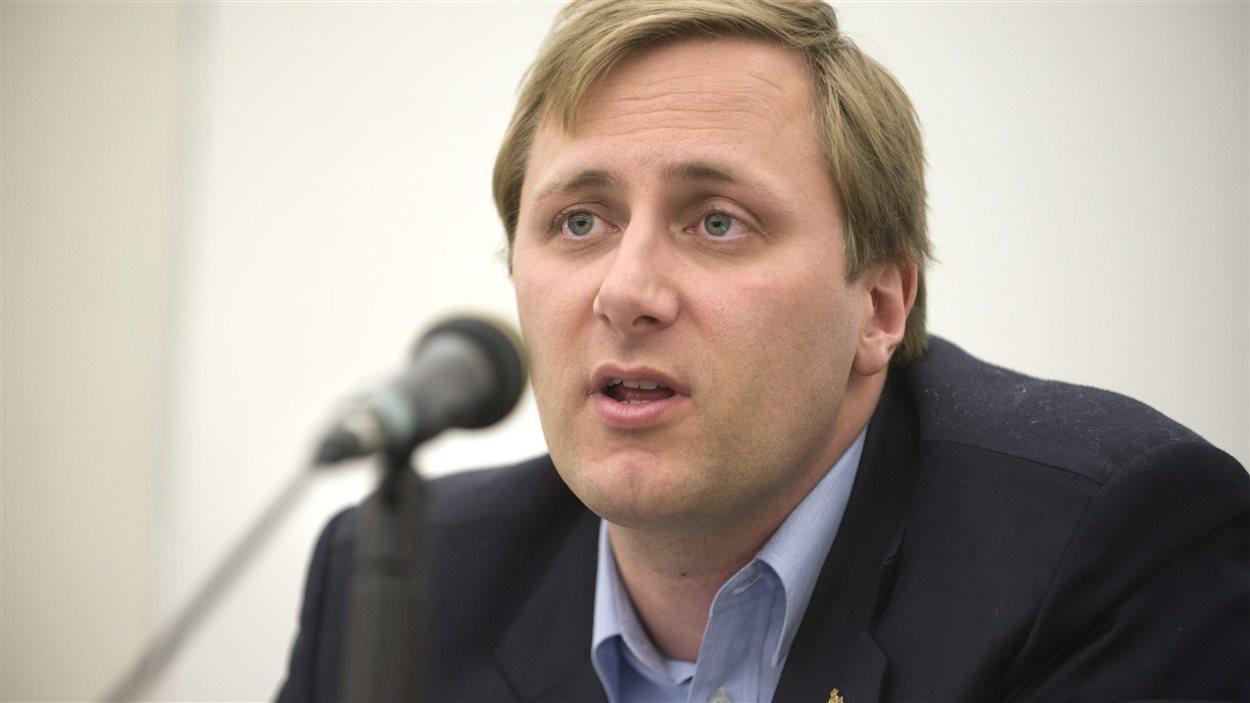 Brad Trost, député de Saskatoon-University.