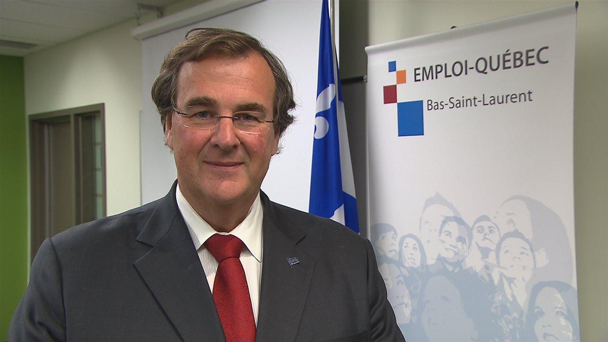Le ministre de l'Emploi et de la Solidarité sociale, François Blais.