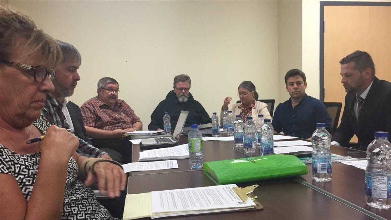Le Comité de citoyens de la zone sud de la voie ferrée de Malartic