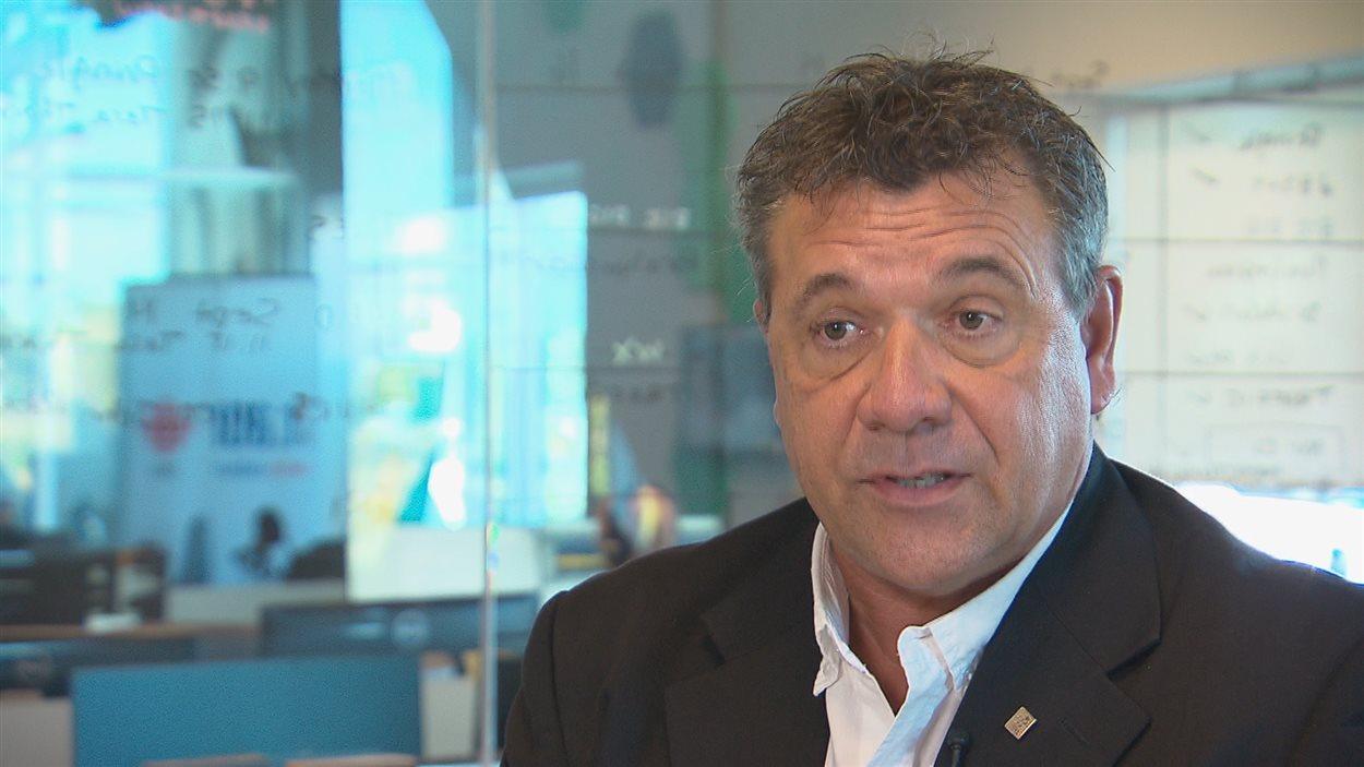 Marc Arseneau, président de l'Association des enseignantes et des enseignants francophones du N.-B.