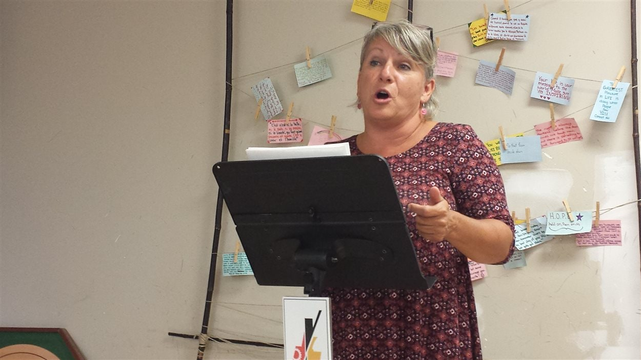 Linda L'Italien, intervenante de proximité en rupture sociale au CISSS-AT