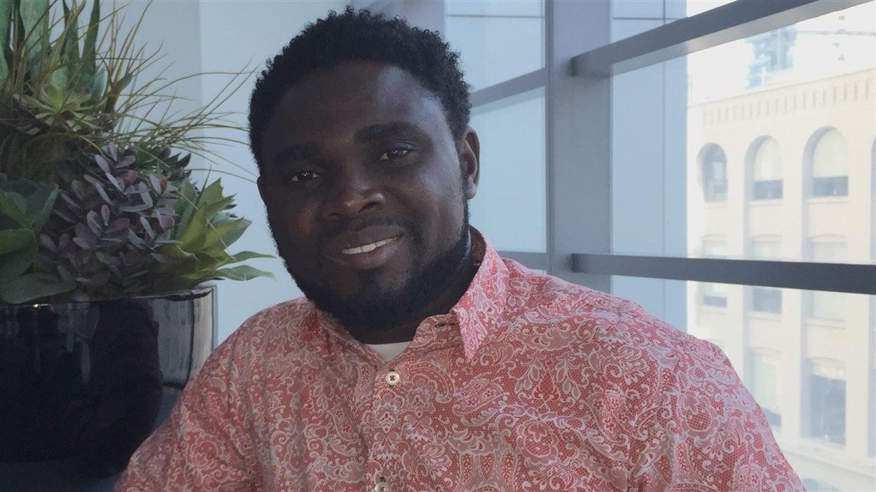 Le réalisateur Uduac-Obong Patrick