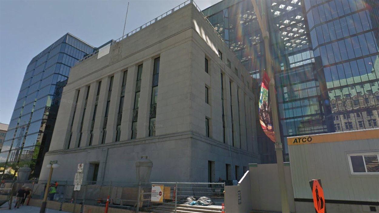 Le siège de la Banque du Canada, au 234, rue Wellington, à Ottawa