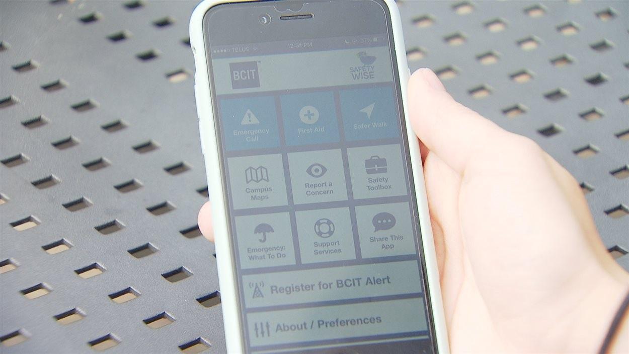 L'application mobile de BCIT