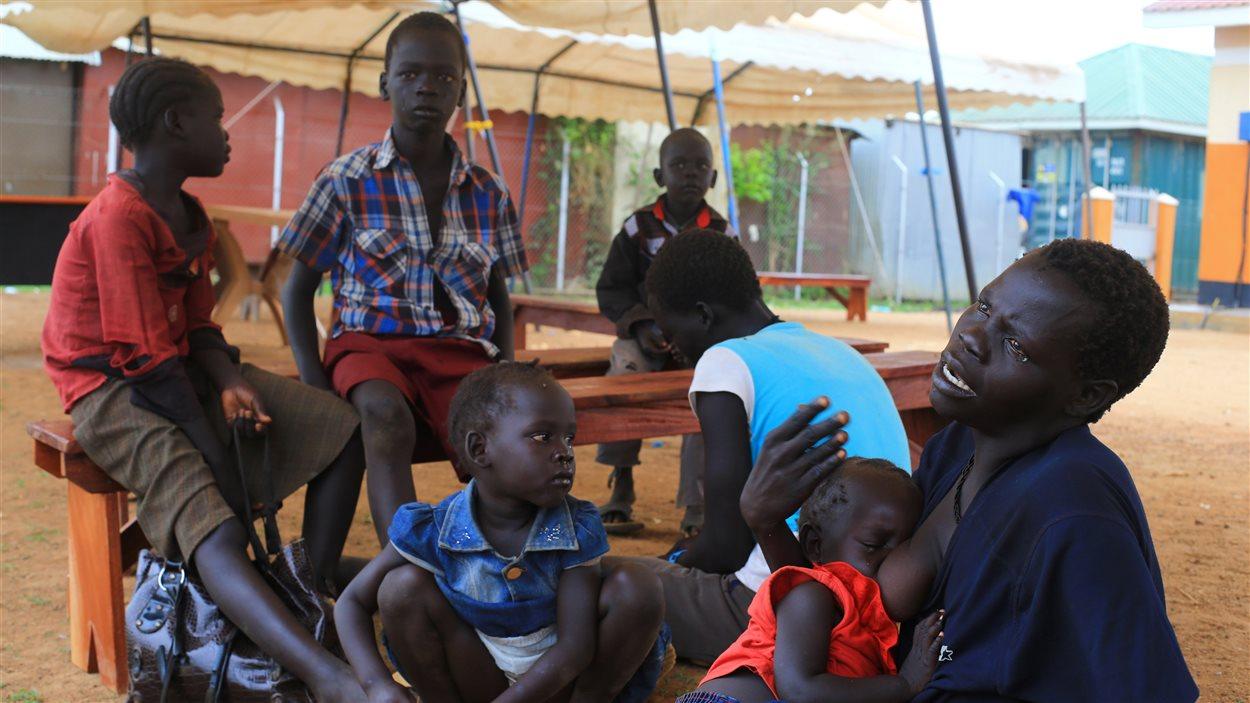 Des réfugiés du Soudan du Sud en Ouganda