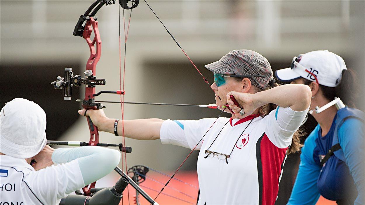 Karen Van Nest aux Jeux paralympiques de Rio