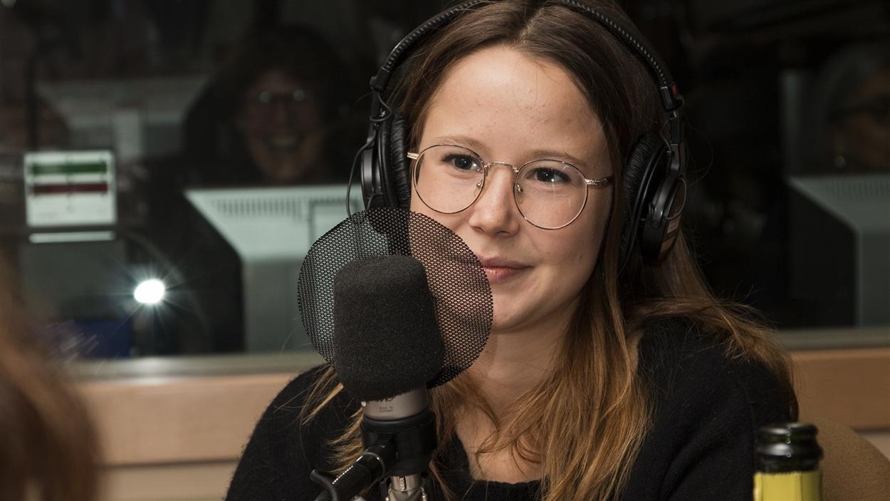 La comédienne Juliette Gosselin