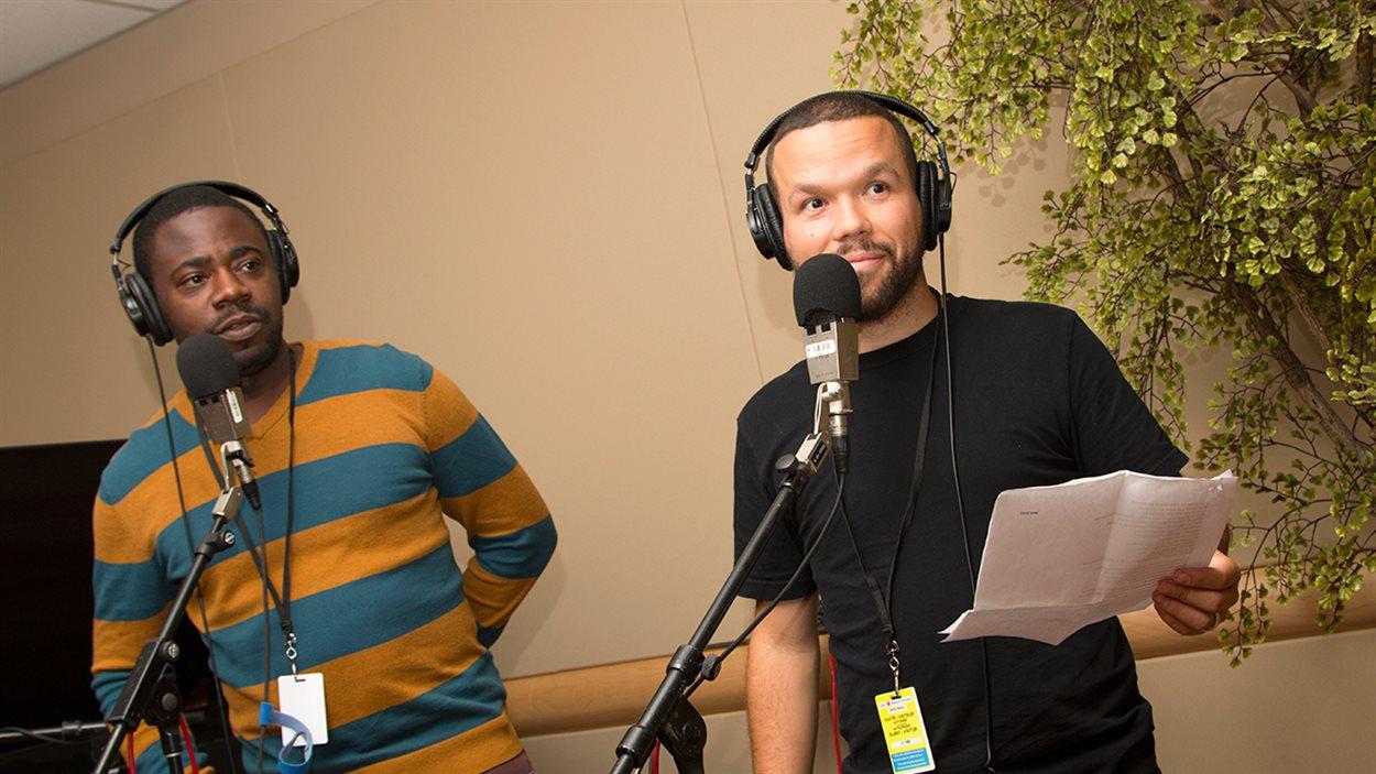 Zéphir Richardson et D-Track dans nos studios
