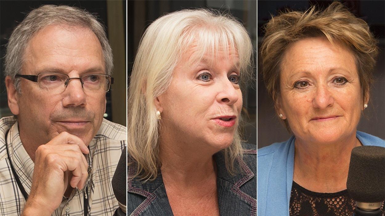 Yves Carrière, Diane-Gabrielle Tremblay et Ginette Lamarche