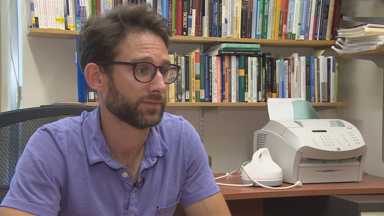 André Magnan, professeur, Département de sociologie de l'Université de Regina