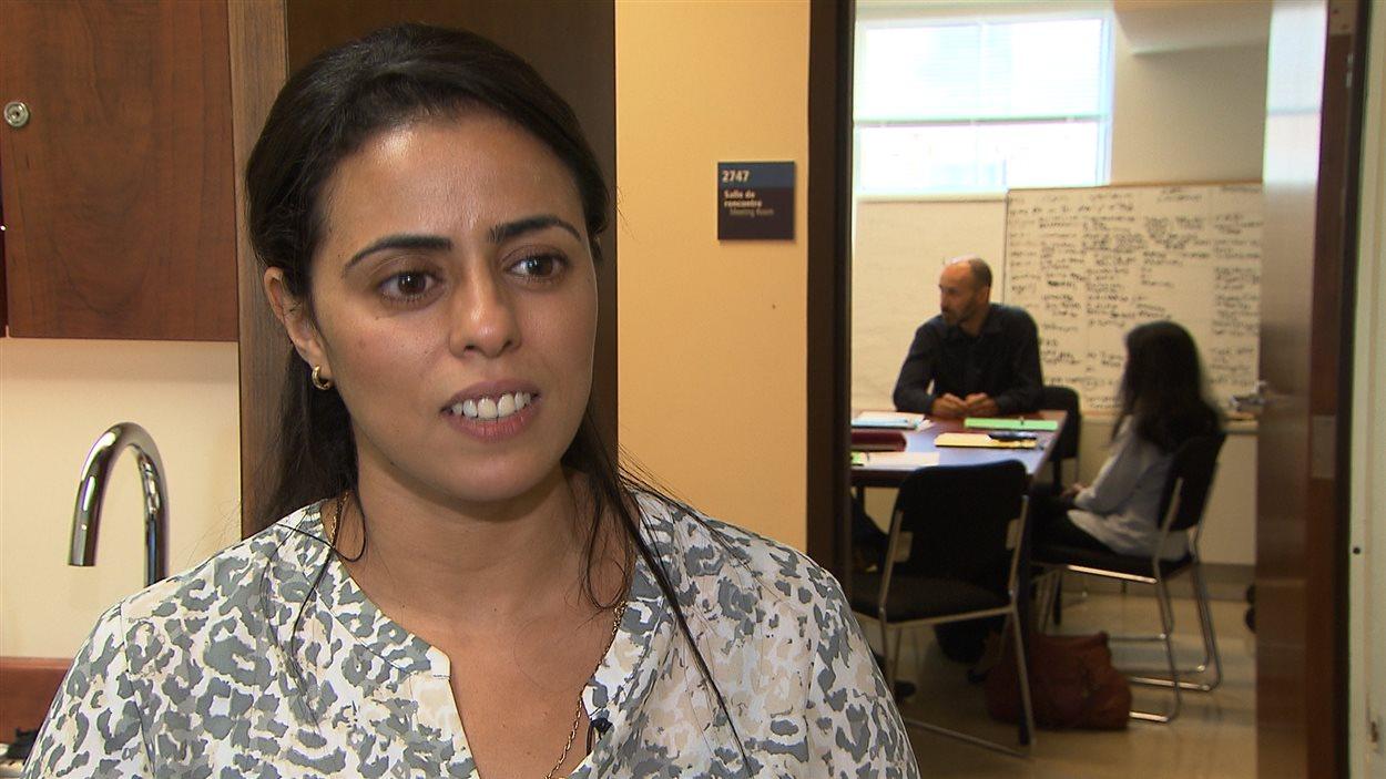 Wiam Akanour est arrivée au Canada juste après ses études en médecine au Maroc.