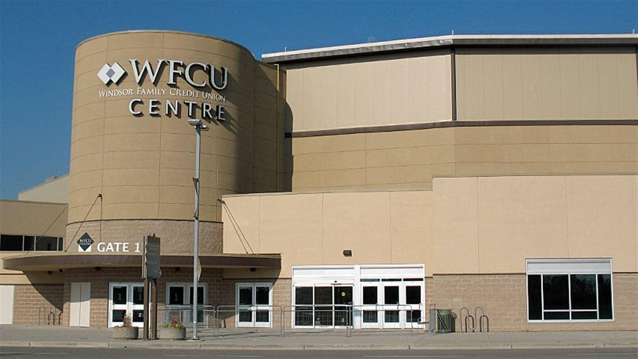 Le centre WFCU à Windsor