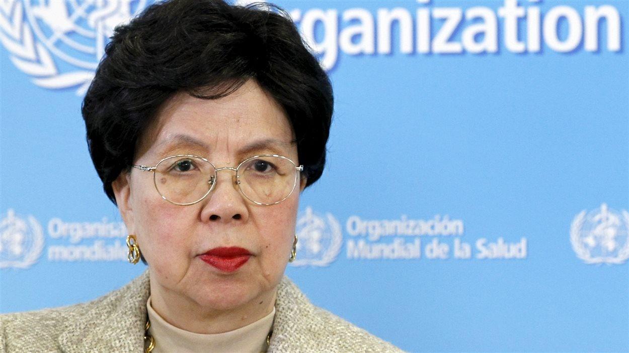 Margaret Chan, directrice générale de l'Organisation mondiale de la santé