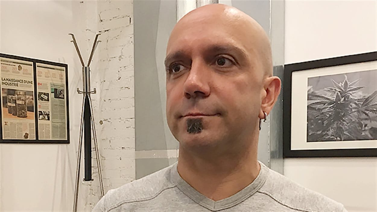 Conrad, utilisateur de cannabis médical