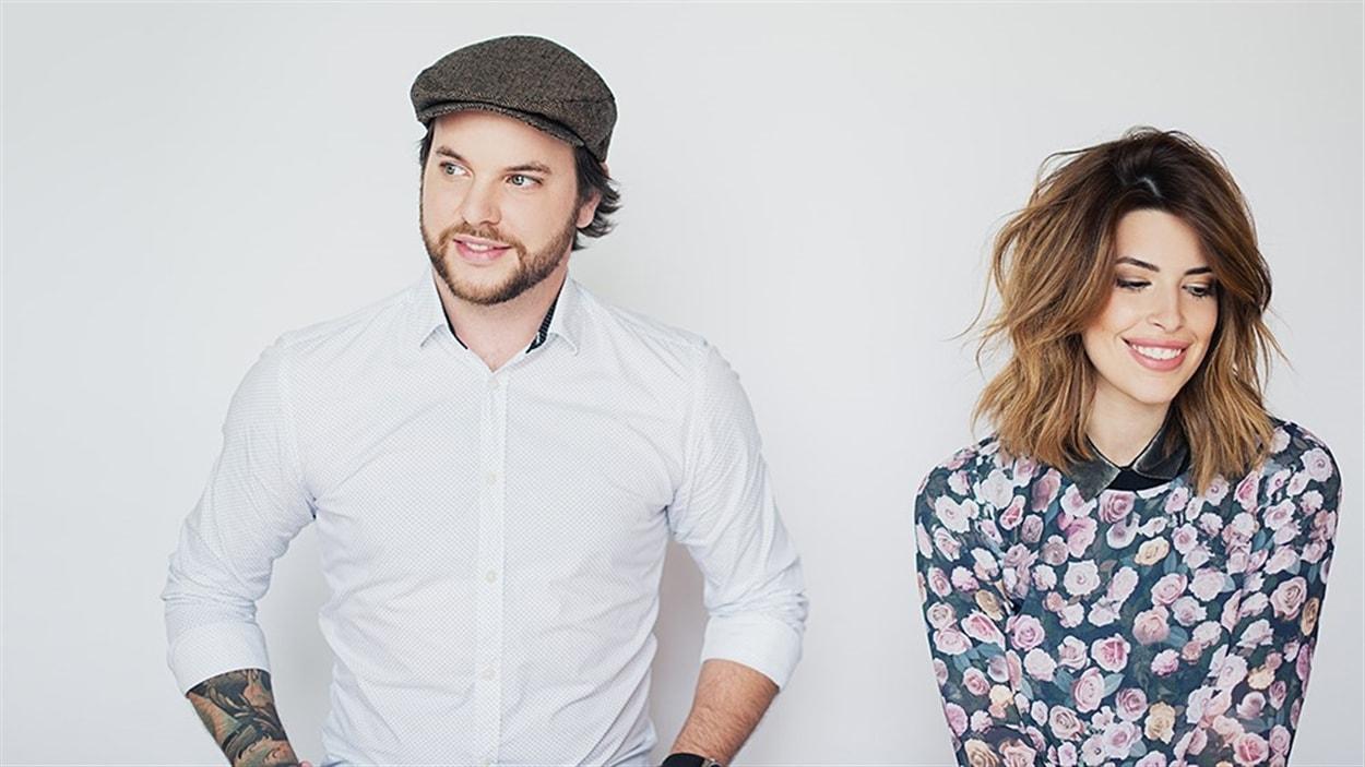 Alexandre Champagne et Marilou
