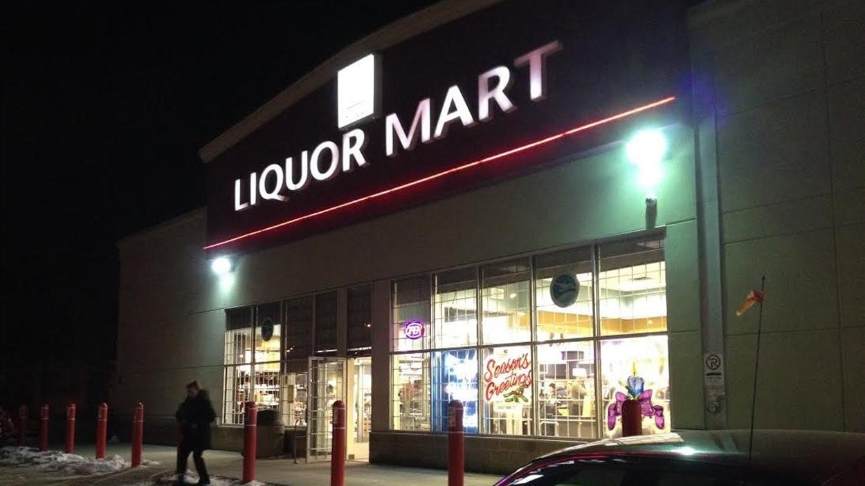 Un magasin d'alcool de Winnipeg