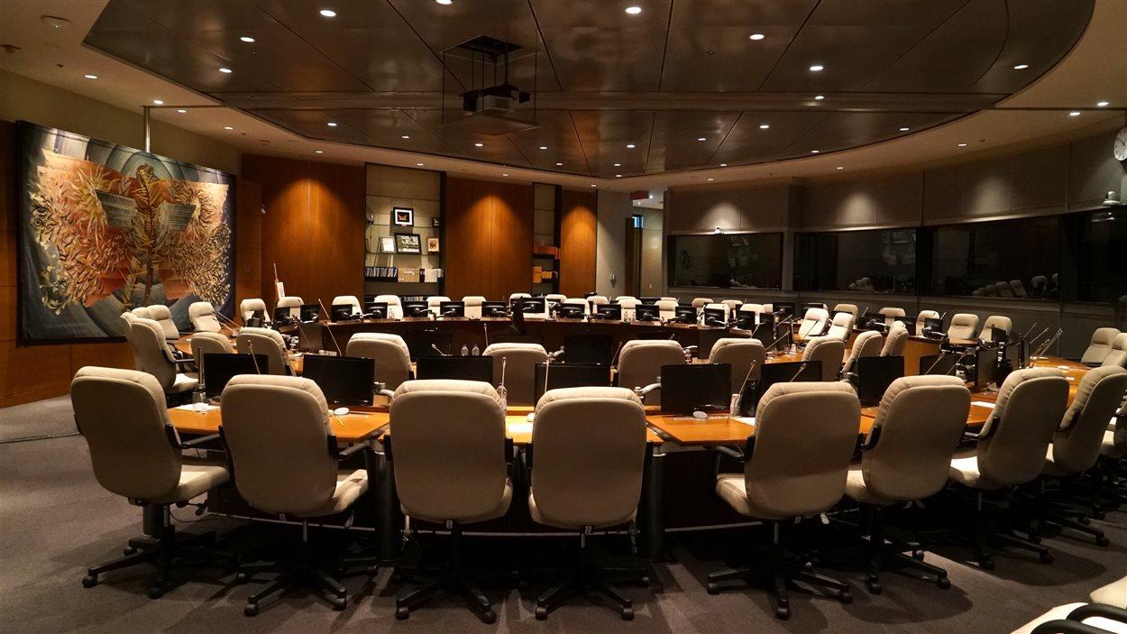 Salle de la Commission de la navigation aérienne de l'OACI