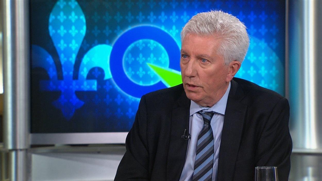 L'ex-chef du Bloc québécois, Gilles Duceppe