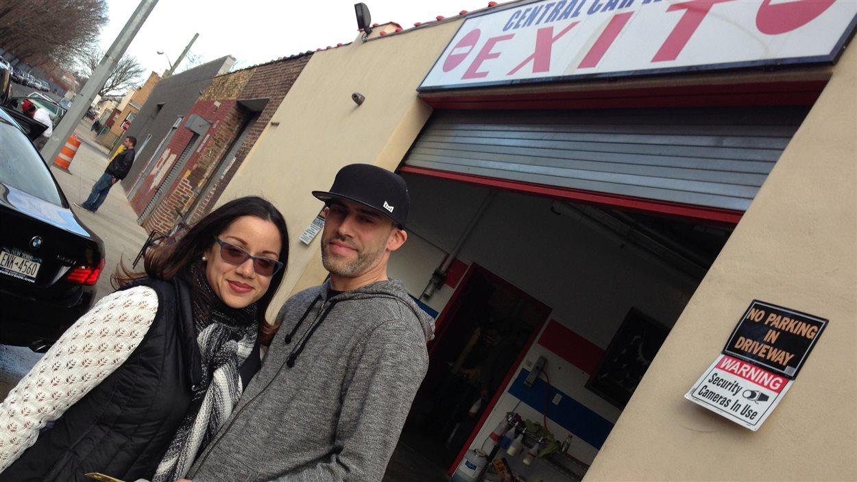 Nicole Pepin et Luis Rodriguez, un couple «newyoricain».
