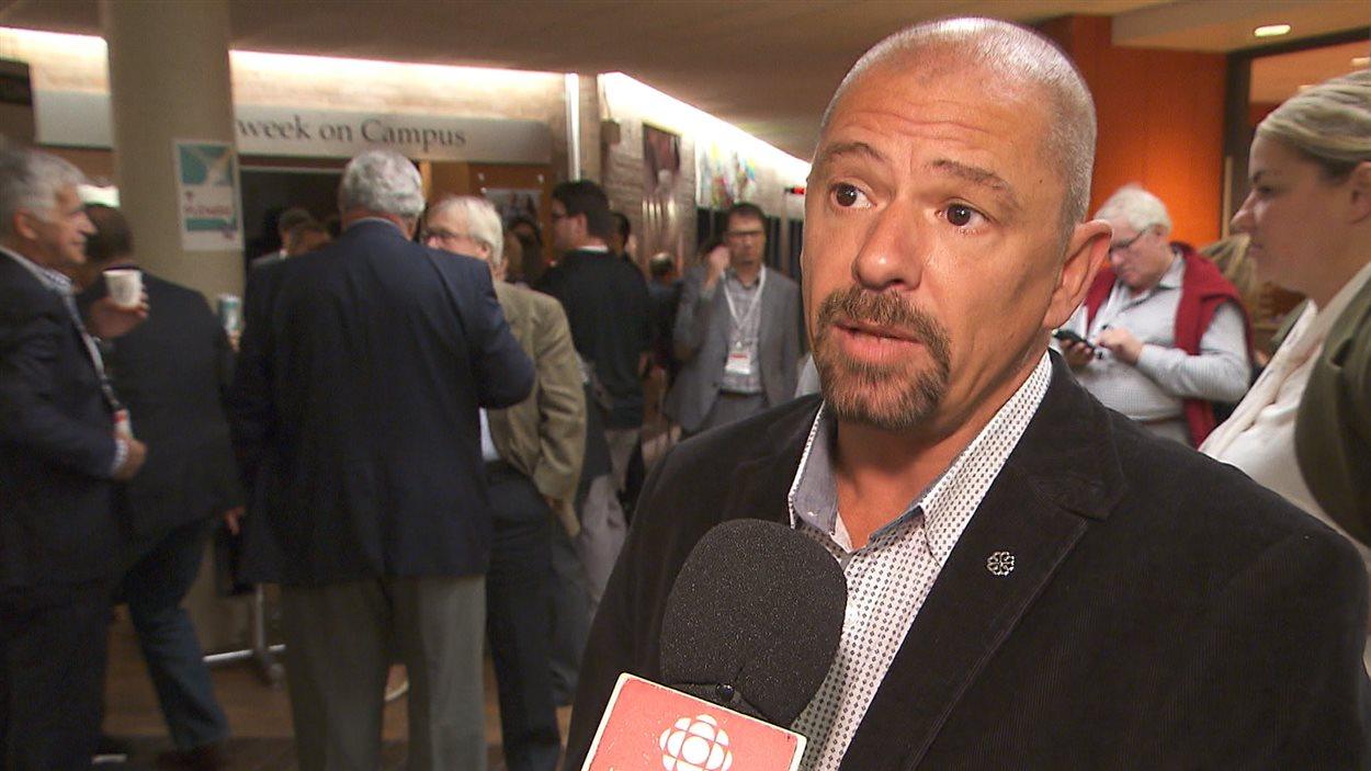Le protecteur des personnes en situation d'itinérance à la Ville de Montréal, Serge Lareault, était au Forum des idées pour le Québec.