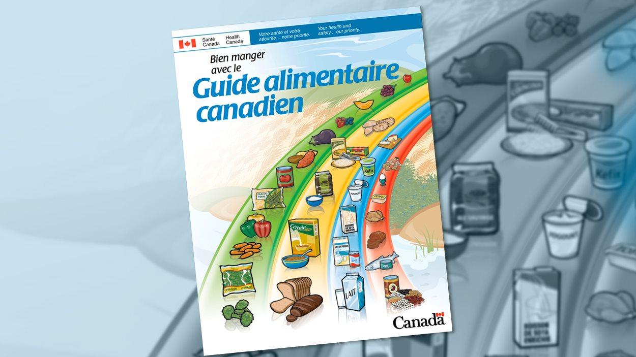 Le Guide alimentaire canadien actuel classe les aliments en quatre groupes.
