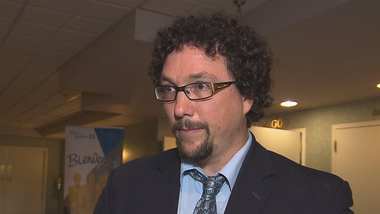 Guillaume Brien, directeur général de la Fédération des coopératives d'habitation de l'Estrie