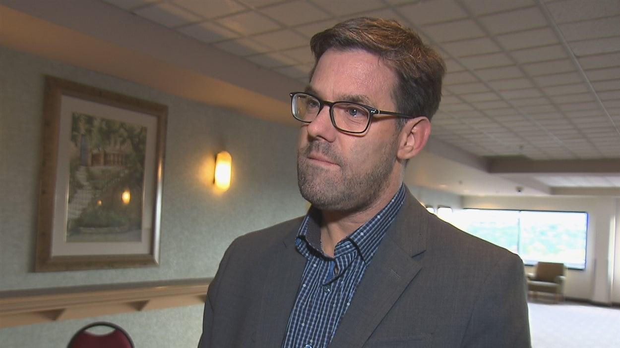 Eric Cimon, directeur général de l'Association des groupes de ressources techniques du Québec