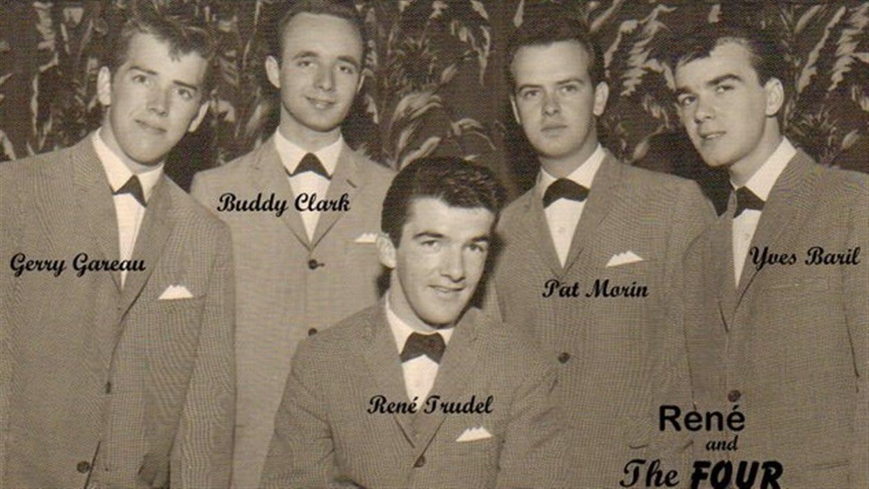 René Trudel and The Four Pladds à l'hôtel Senneterre en 1961