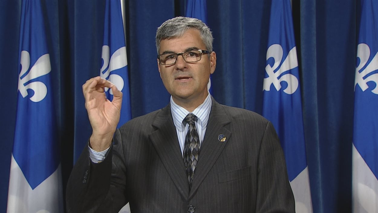 Le député de La Peltrie, Éric Caire