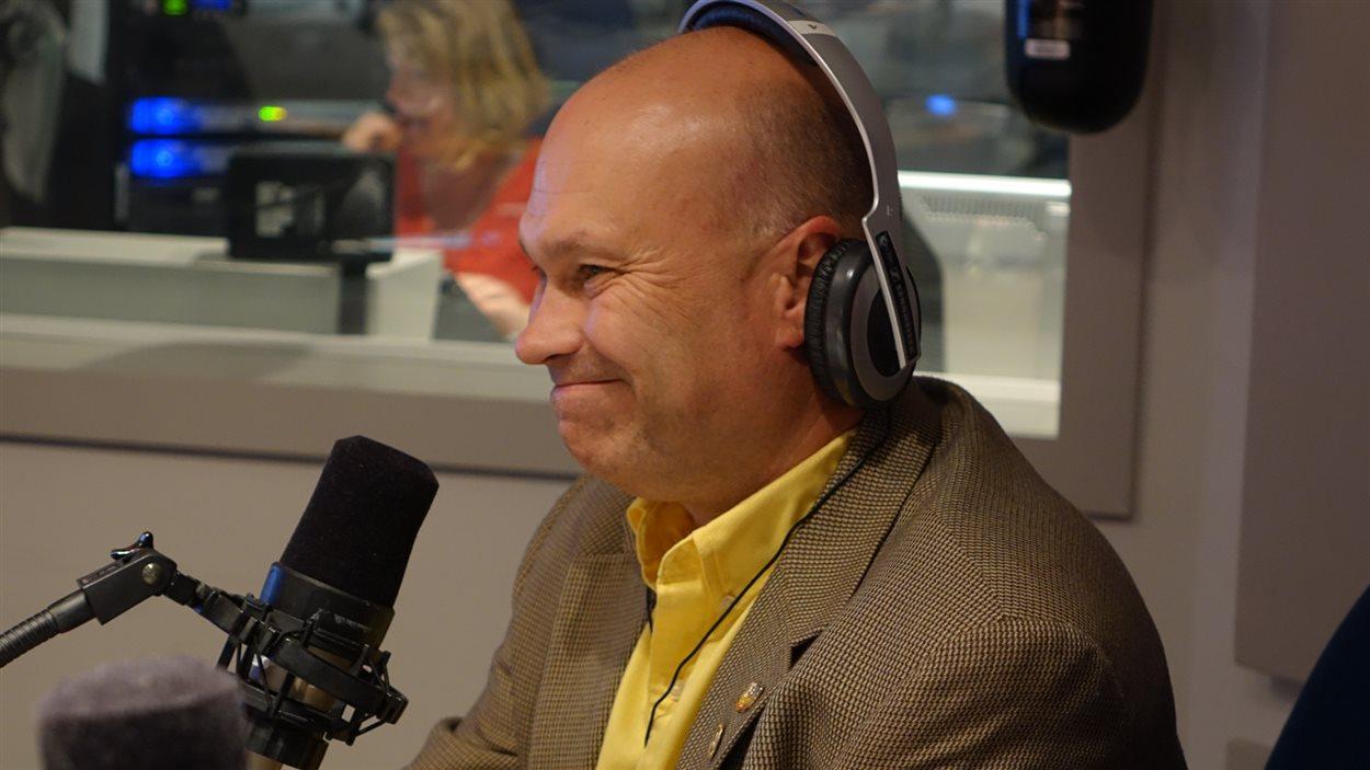 Ghyslain Lemay, directeur général de l'Association sportive des jeunes handicapés de l'Estrie