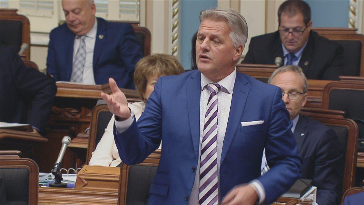 Le ministre des Transports, Laurent Lessard, à la période de questions du 22 septembre