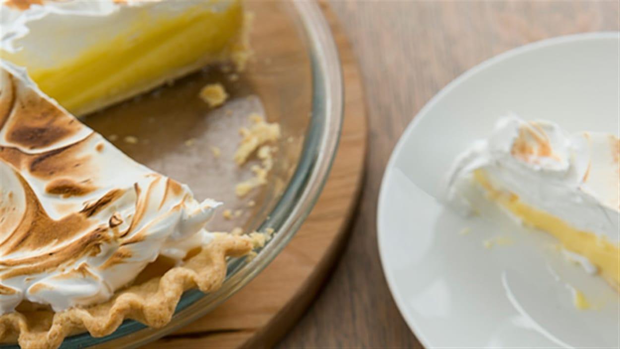 Tarte au citron à la meringue suisse