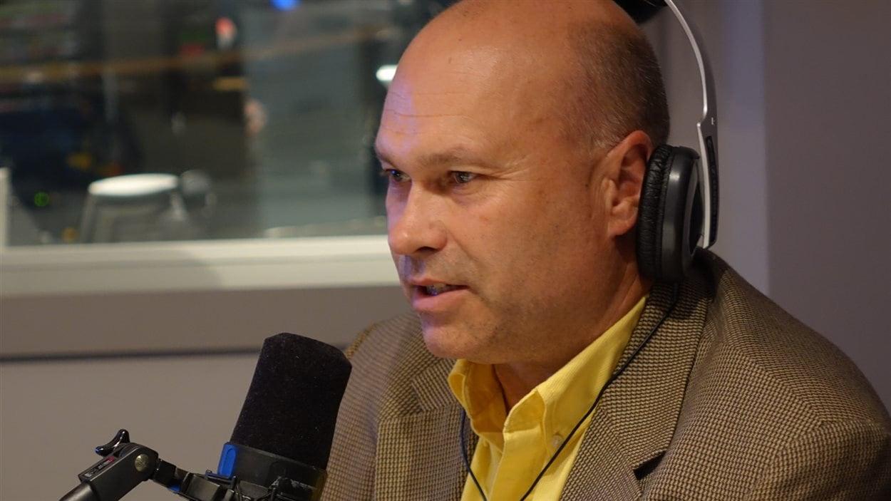 Ghislain Lemay, directeur général de l'Association sportive des jeunes handicapés de l'Estrie