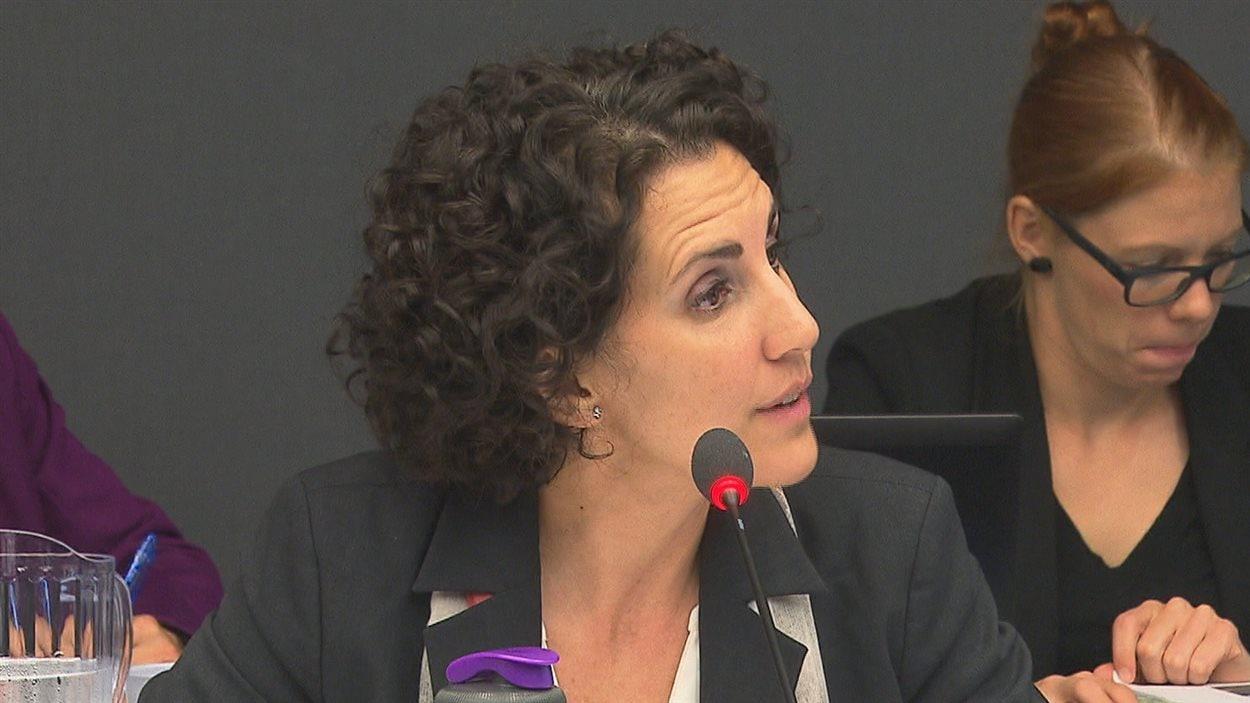 Lyne Veilleux, responsable du projet d'Hydro-Québec