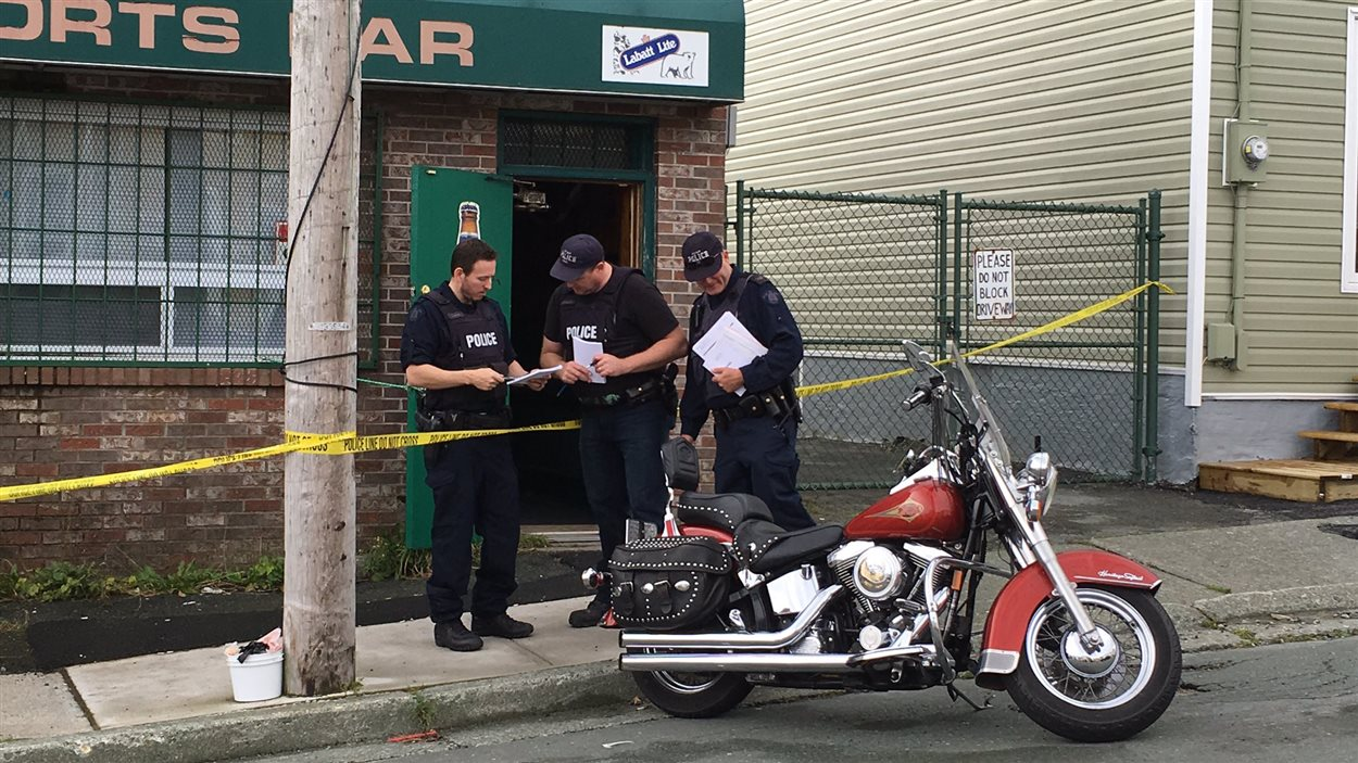 L'une des descentes policières a eu lieu dans ce bar.