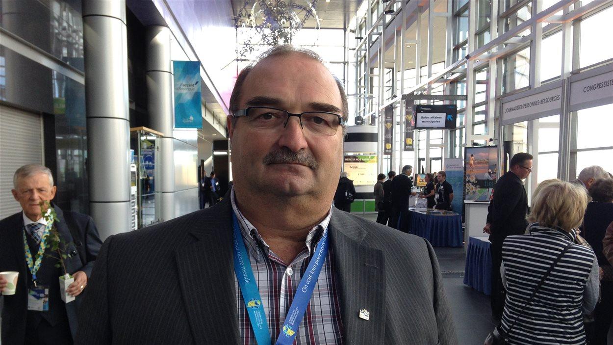Le préfet de la MRC Rimouski-Neigette, Francis Saint-Pierre
