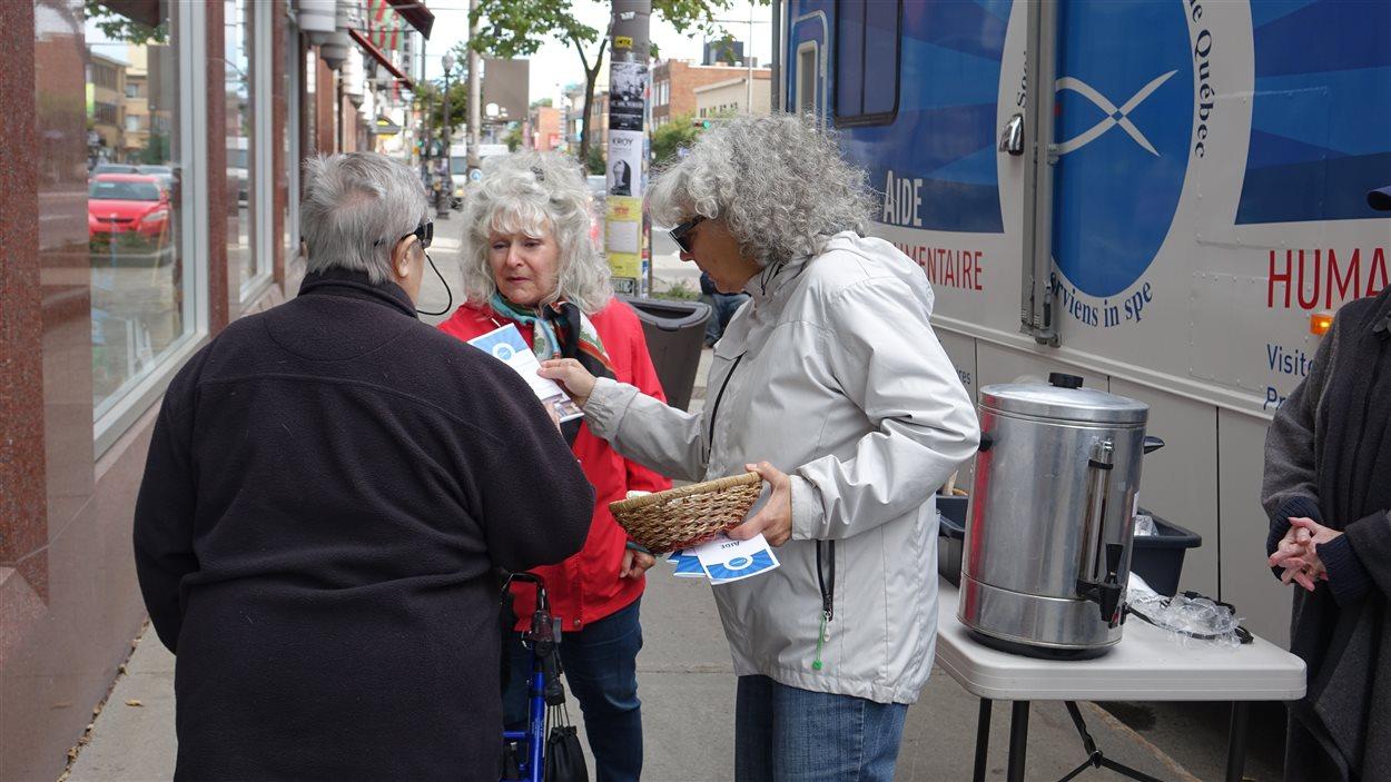 Les bénévoles de la Saint-Vincent-de-Paul font la promotion de leurs activités