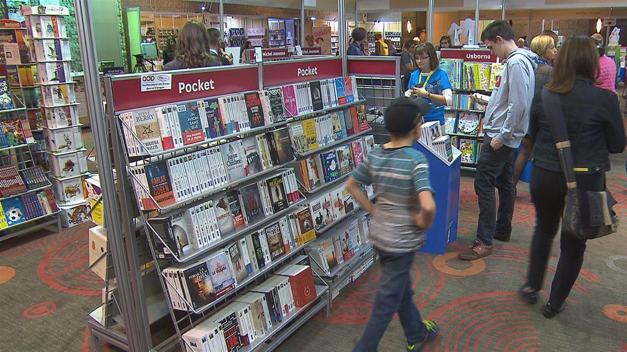 Le Salon du livre du Saguenay-Lac-Saint-Jean