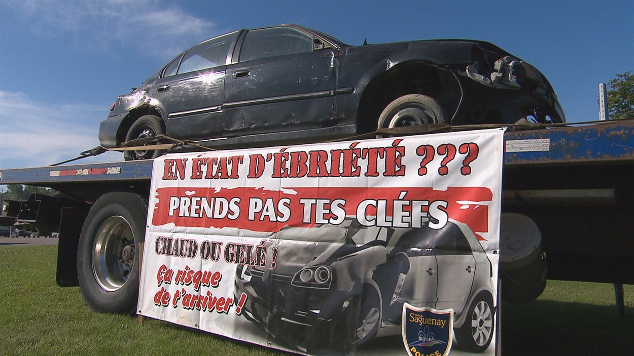 La SAAQ s'associe aux Saguenéens de Chicoutimi dans une campagne contre l'alcool au volant