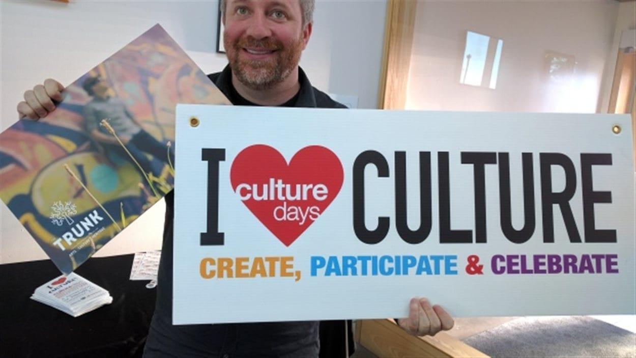 Ash Young, superviseur au développement culturel pour la ville de Thunder Bay.