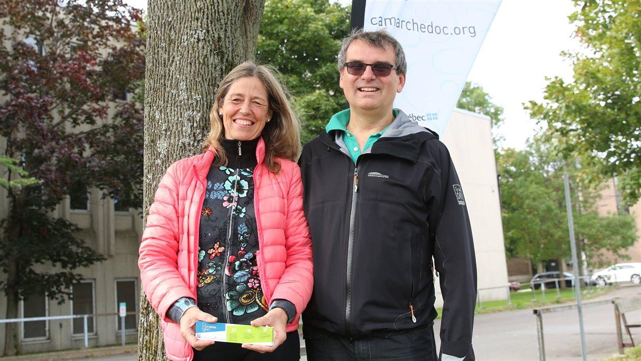 Johanne Elsener et Paul Poirier, instigateurs du projet.