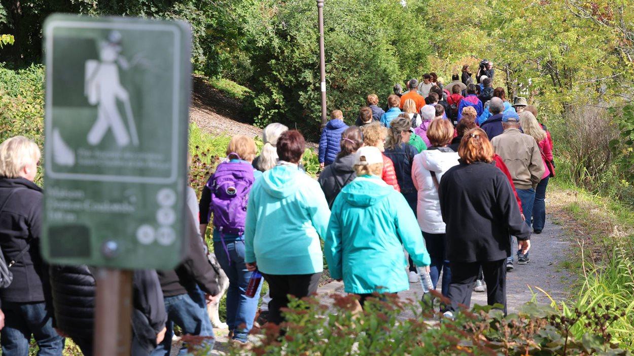 Une première marche se tenait, samedi, à Québec.