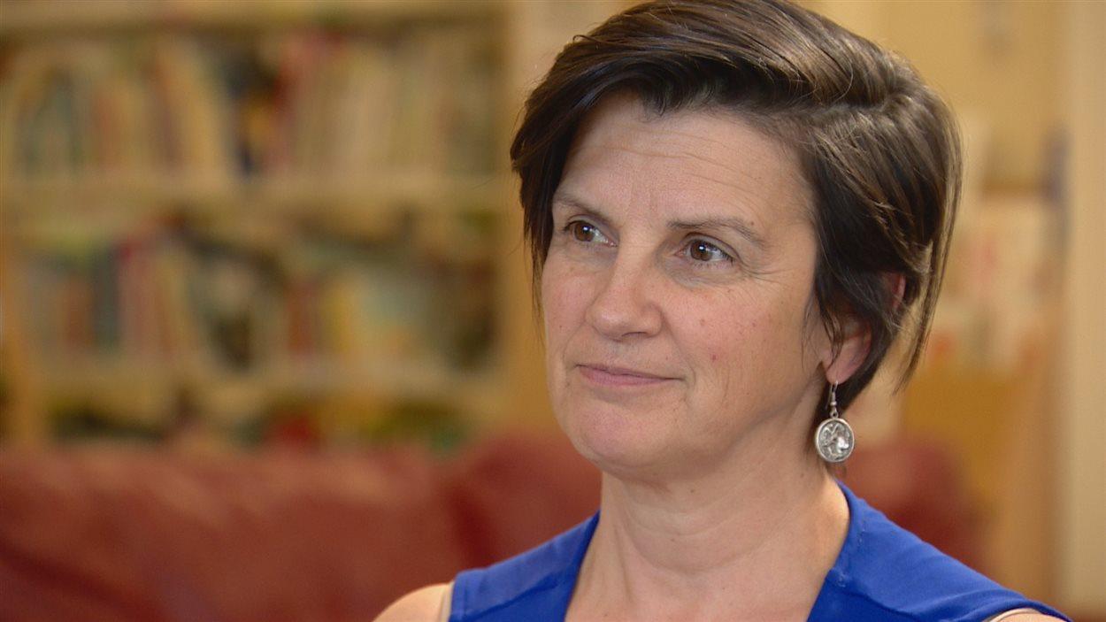 Mireille Péloquin, directrice générale de la Fédération des parents francophones de l'Alberta.