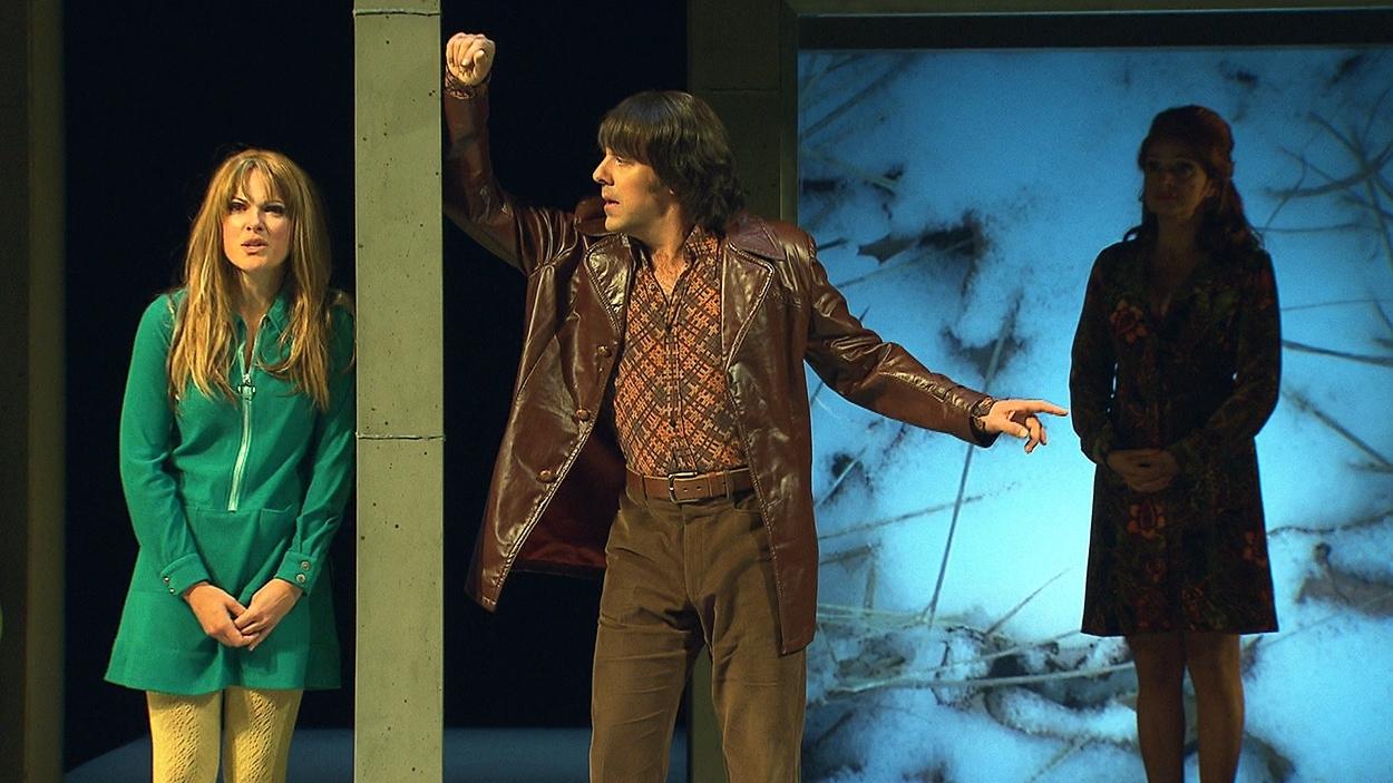 Une scène de «Tartuffe» au TNM